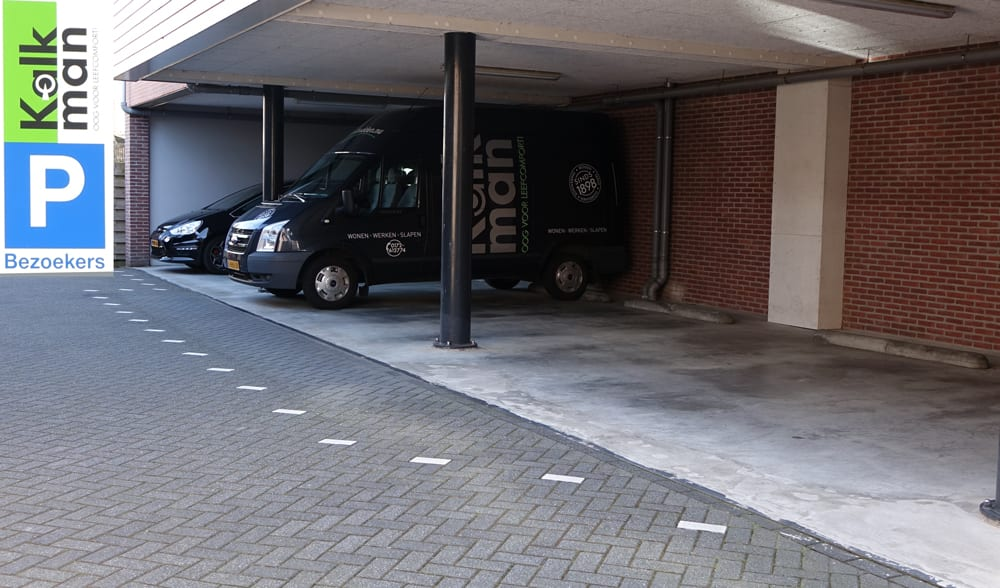 bij een bezoek aan onze winkel kunt u gratis parkeren op ons eigen parkeerterrein