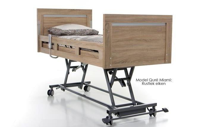 hoog laag zorgbed -Quré-model Miami