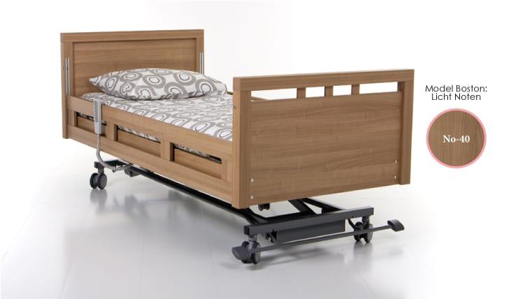 hoog laag zorgbed -Qure- model Boston